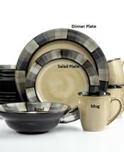 Gourmet Basics by Mikasa Horizon Grey Plates, Bowls Mugs +++ - $14.99+