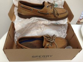 Sperry Top Sided Men's Authentic Boat Shoes Sahara Leather 0197640 Size ... - $36.63