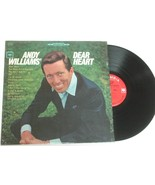 Andy Williams DEAR HEART LP Record CS 9138 Columbia Label VG+ - $4.84