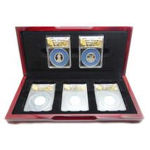 2010-S Silver Proof National Park Quarters Limited Edition, PR70DCAM, Se... - $246.75