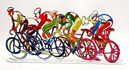 Hand Made High Design Bikes In 3D Colored Metal Made - $215.50