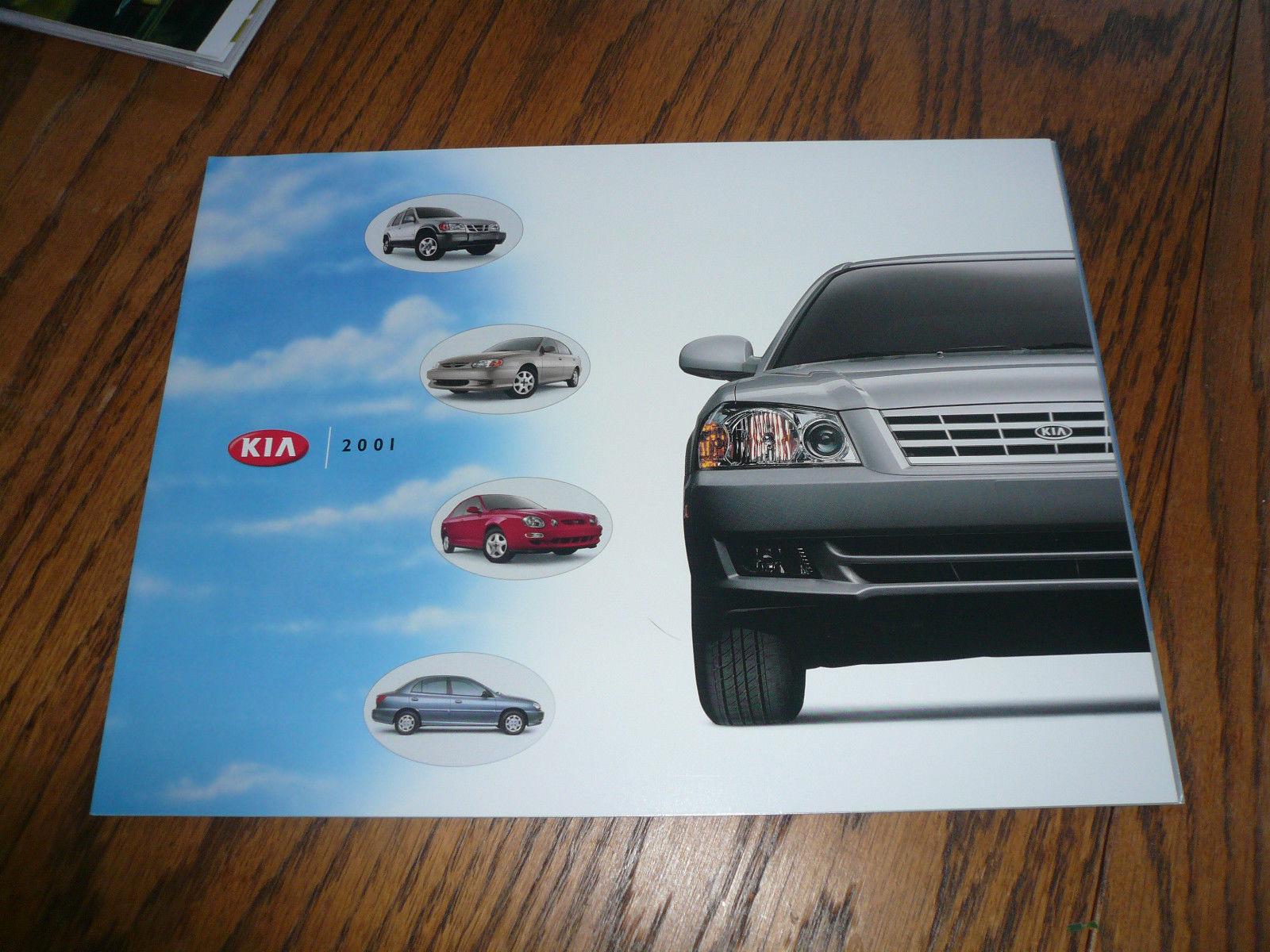 2001 Kia Optima Rio Sportage Sales Brochure - $7.84