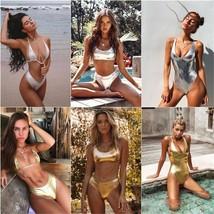 2019 mujer bathing suit swimwear High waist bikinis Push up swimsuit fem... - $12.30