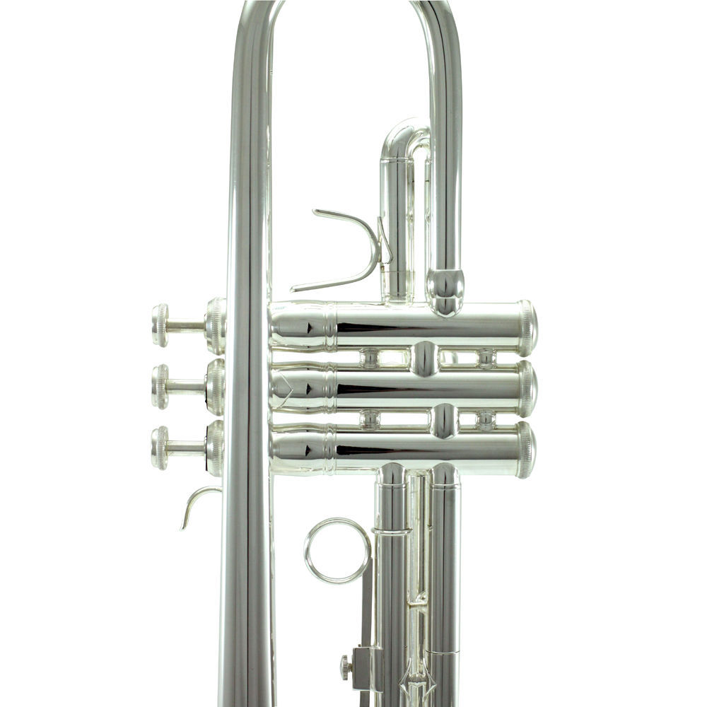 Band Approved SILVER Trumpet w Case + FREE Carrying Bag image 4