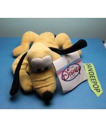 """Walt Disney Store And Parks Mini Bean Bag Pluto Dog Of Mickey Mouse 7"""" - $9.89"""