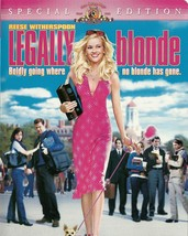 Legally Blonde DVD Reese Witherspoon Luke Wilson Selma Blair Special Edi... - $2.99