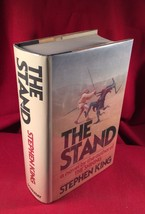The Stand by Stephen King -Fine/Fine - $196.00
