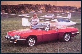1988 Jaguar XJS V-12 Prestige Brochure HUGE, MINT! - $12.46