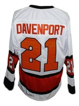 Custom Name # Baltimore Clippers Retro Hockey Jersey 1970 New White Any Size image 2