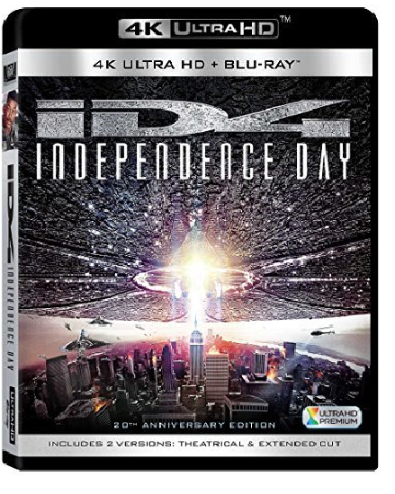 Independence Day 20th Anniversary (4K Ultra HD+Blu-ray)