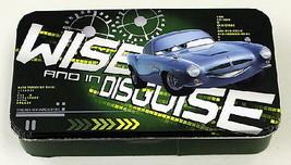 Walt Disney's Cars 2 Movie Wise In Disguise Tin Catch All Storage Box NE... - $8.79