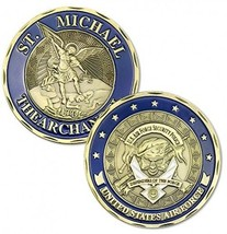 United States St Michael Archangel Air Force Challenge Coin? - $25.11