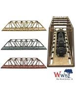 War World Scenics Single Track N-Gauge MDF Girder Bridge 200mm - $15.95