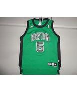 Green Boston Celtics #5 Kevin Garnett Sewn NBA Adidas Jersey Youth M  - $19.30
