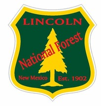 Lincoln National Forest Sticker R3266 New Mexico You Choose Size - $1.45+