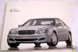 2003 mercedes s55 amg s600 s500 s430 owners sales brochure - $34.99