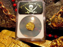 "MEXICO 1704 DATE 1 ESCUDO ""1715 PLATE FLEET SHIPWRECK"" NGC 61 PIRATE GOLD COINS image 9"