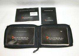 1999 Cadillac Catera Factory Original Owners Manual Book Portfolio #15 - $17.77