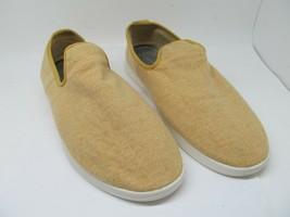 Allbirds Mens Yellow Merino Wool Slip On Casual Loungers Size US 14 EUR 47 - $47.53