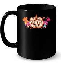 Universal Trolls Halloween Get the Party Pumpkin Ceramic Mug - $13.99+