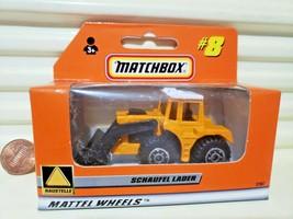 Matchbox 1998 #8 SCHAUFEL LADER Shovel *GERMAN Issue + GERMAN Box Nu in ... - $29.95