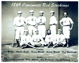1869 Cincinnati Red Stockings 8X10 Team Photo Baseball Picture Mlb - $3.95
