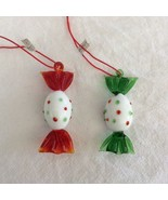 Midwest Importers Glass Candy Christmas Ornament Handcrafted Confection ... - $14.20