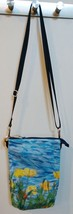 California Poppies - 3 Pocket Zippered Crossbody Bag image 2