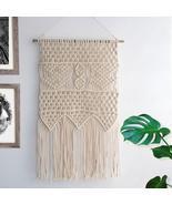Macrame Wall Hanging Tapestry BOHO Home Decor Bohemian Apartment Room Dorm - $54.95