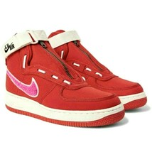 NIKE AIR FORCE 1 HIGH EMOTIONALLY UNAVAILABLE Red AV5840-600 sz 10.5 11.... - $69.99