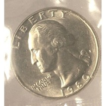 1980-P Washington Quarter MS65 In the Cello #364 - $4.79