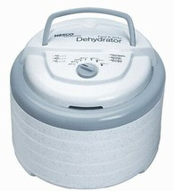Snackmaster Pro Food Dehydrator, White Top-mounted Fan Adjustable 95°-16... - $166.85