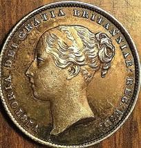 1866 GREAT BRITAIN VICTORIA SILVER SHILLING COIN - Fantastic example! - $82.99