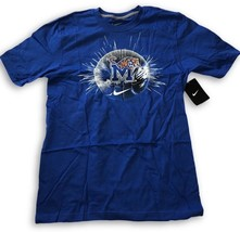 NWT New Memphis Tigers Nike College Basketball Logo Ball Size Small T-Shirt - €16,16 EUR