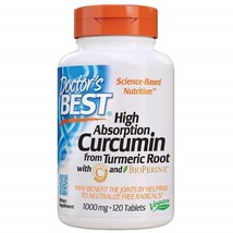 Curcumin From Turmeric Root with C3 Complex & BioPerine 1000 mg, 120 Tablets - $175.98