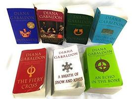 The Outlander Series 7-Book Paperback Set Diana Gabaldon: Outlander, Dra... - $42.95