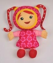 Milli Measure TEAM UMIZOOMI Plush PINK Doll TOY Fisher Price 2011 Girl 9... - $19.80
