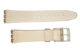 Swatch Replacement 17mm Plastic Watch Band Strap frost fit - $8.95