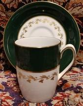 Spode GREEN VELVET Demitasse Cup & Saucer (multiple available) - $11.26