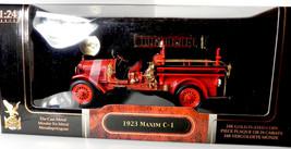 Road Signature 1:24 1923 Maxim C-1 Firetruck Fire Engine Truck Red  Yat ... - $49.99