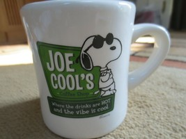 Joe Cool's Hallmark Peanuts Coffee Mug Schulz - $17.42