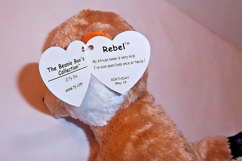 Beanie Boo Meerkat REBEL TY 6