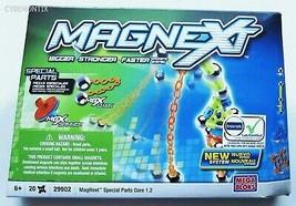 NEW Magnext Special Parts Core 1.2 Mega Bloks 29902 20 Pieces Building Set - $21.68