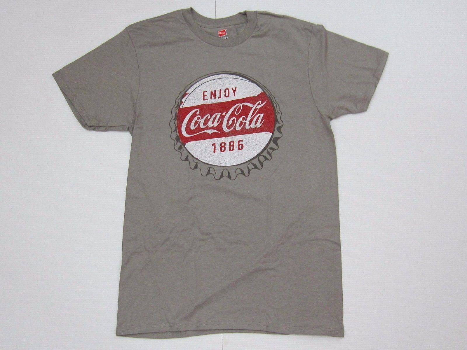 Coca-Cola Black T-shirt Tee Size 4XL 4X-Large Taste of Summer  100/% Cotton