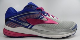 Brooks Ravenna 8 Running Shoes Women's Sz: US 10 M (B) EU 42 Silver 1202381B089