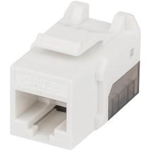 Intellinet Network Solutions Fastpunch Cat-6 Utp Keystone Jack (white) - $5.99
