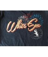 Chicago White Sox Ladies Baseball Shirt With Fireworks Size Large MLB NW... - $17.09