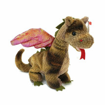 Ty Beanie Baby Original Scorch Dragon 1998 With Mint Hang Tag & Tag Prot... - $28.49