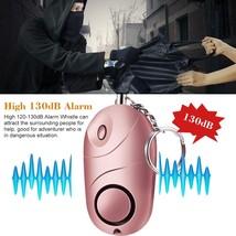 130db Safe Sound Personal Alarm Self-defense Keychain Emergency Anti-att... - $15.21