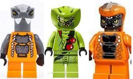 LEGO Ninjago Chokun Lasha and Snike - Serpentine Army 5 Minifigure - $21.67